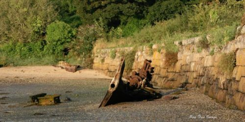 Lelant Wreck